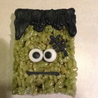 These Frankenstein Cereal Treats Were Made For Clasroom Halloween Treat Bags These Are Quick And Easy To Make For Large Classes I Made 5 These Frankenstein cereal treats were made for clasroom Halloween treat bags. These are quick and easy to make for large classes. I made 50...