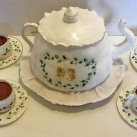 Teapot And Teacups Are Cakes Teapot and teacups are cakes