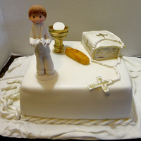 First Communion Cake First Communion Cake