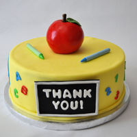 Pre-School Graduation I made this cake for my son's pre-school graduation party and as a way to thank all his teachers. White cake with strawberry italian...