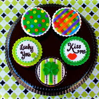 St Patricks Day Cupcakes St. Patrick's Day cupcakes