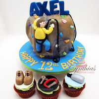 "For Axel 6"" All fondant cake"