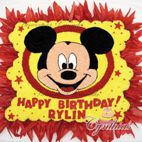 For Rylin 100 Cupcakes, all buttercream with fondant details