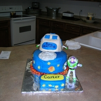 Buzz Lightyear Birthday Cake Buzz light year Birthday cake