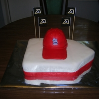 Grooms Cake Cake for the Groom who loves St Louis Cardinals