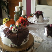 """day Of The Dead"" Cake"