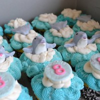 Dolphin Tale 8Th Birthday Dolphin Tale 8th birthday cupcakes for a young girl in love the movie release Spring 2012. Vanilla cupcakes and vanilla buttercream with...