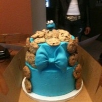 Cookie Monster Cake Cookie Monster Cake