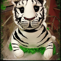 Tiger Cub Tiger Cub was a grooms cake I made and drove it from Jacksonville Fl, to Chapel Hill. NC. And yes, it made in one piece and it was the hit...