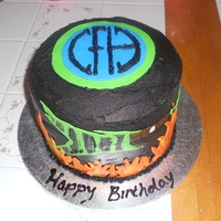 "Pantera Birthday Cake I made this cake for my Fiancee's birthday. His favorite band (and one of my favorites too) of ALL time is Pantera, aka ""Cowboys..."