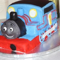 Thomas The Train made this one for my nephew's birthday!