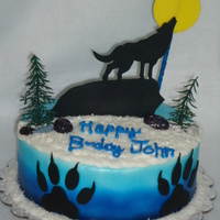 Howling Wolf Cake Howling Wolf cake