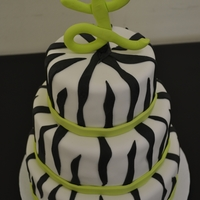 Zebra Print & Lime Green zebra print & lime green