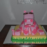 Hippo First Birthday Pink Hippo First Birthday
