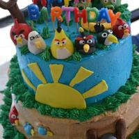 Angry Birds All handmade birds and pigs