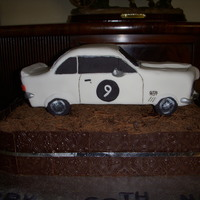 Noel's Torana Cake This cake is a replica of the Torana car that a dear friend owns and loves, made for his 60th birthday. The base is a dense chocolate &#039...