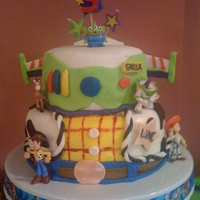 Toy Story Cake this was for my son's 3rd birthday. He's toy story crazy!