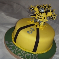 'bumblebee' Transformer Birthday Cake