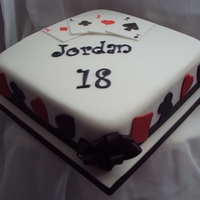 4 Aces Birthday Cake