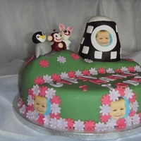 Cbeebies Baby Jake & Friends 1St Birthday Cake