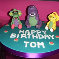 Barney & Friends Cake Topper