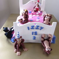Cake Made For My Wee Great Neiece Who Is Real Little Monkey Herself Everything Is Made From Fondant Covering A Chocolate Mud Cake Filled Wi... Cake made for my wee great neiece who is real little monkey herself. everything is made from fondant covering a chocolate mud cake filled...