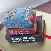 A 25Th Birthday Cake For My Nieces Friend Who Is A Booklover Cake Is Chocolate Mudcake With Chocolate Rum Buttercream Filling A 25th birthday cake for my nieces friend who is a booklover. Cake is chocolate mudcake with chocolate rum buttercream filling.