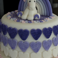 Purple Birthday Cake For A Neighbors Daughter Found The Heart Design Online The Original Design Used Sugar Hearts Which Were Described Purple birthday cake for a neighbor's daughter. Found the heart design online. The original design used sugar hearts, which were...