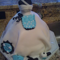 Kitchen Bridal Cake  Picture of my first bridal shower cake that I got the idea from a lady on CC-sorry can't remember her name! The cake recipe was the 3-...