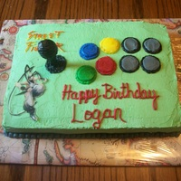 Street Fighter Game Pad Cake Street Fighter Game Pad Cake. Happy Birthday to my amazing son who loves his video games & assorted video game toys!