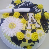 High School Grad Cake, Headed To Asu!