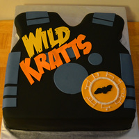 Wild Kratts Theme Carved from square cake. Covered in fondant w/ fondant decor.