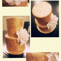 Gold Wedding (Mini Cake)