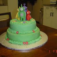 Teletubbies My first children's birthday cake. Very impress with myself
