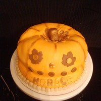 Pumpkin Spice cake with maple buttercream...Yum Yummy