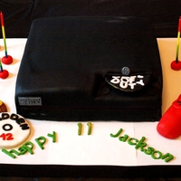 Playstation Anyone? PS3 cake for my son the gamer.