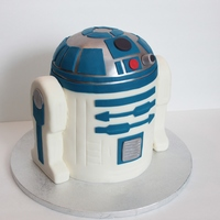 R2D2 R2D2 for a boy's Star Wars birthday party. Everything was edible. TFL!