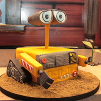Wall-E Cake This Wall-E cake was for a 5-year old's birthday. Apparently no one sang happy birthday because no one realized it was a cake! Best...