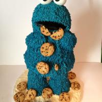 3D Characters *The cookie Monster a mix of cake and RKT