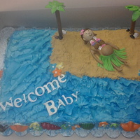 Baby Shower/hula Party