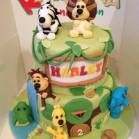Raa Raa The Noisy Lion Childrens Cake Raa Raa the noisy lion children's cake