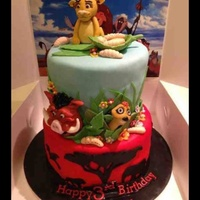 Lion King Disney lion king cake.