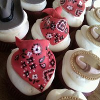 Cupcakes   Country Western themed cupcakes : )