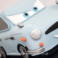 Childrens Cakes Finn McMissile from Cars 2
