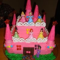 Princess Castle everything but the dolls is edible