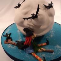 Whizzing Witch Debbie Brown's Halloween theme...