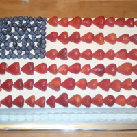 American Flag   BC, fresh strawberries and blueberries... TFL!