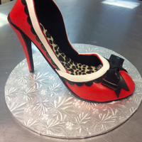 "Made This Shoe In Swank Cake Designs High Heeled Shoe Class Had So Much Fun And Am Very Happy With How It Turned Out It Was My First Made this shoe in ""Swank Cake Design's"" high heeled shoe class. Had so much fun and am very happy with how it turned out. It..."