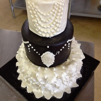 Antique Wedding Display Cake