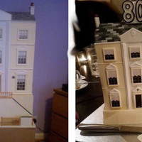 Dolls House Cake I was asked to make a replica of the dolls house on the left. The recipient actually made the dolls house herself a number of years ago and...